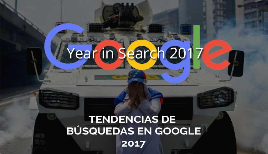 Las tendencias de búsquedas en Google 2017
