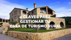 Claves para la gestión de casas rurales