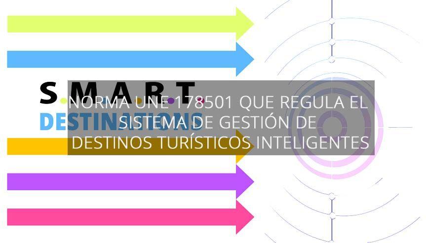 Norma UNE 178501 Sistema de Gestión Destinos Turísticos Inteligentes