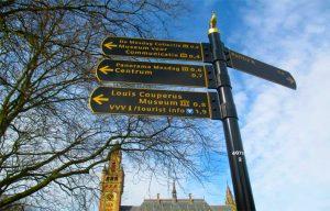 Sistema de señalización turística