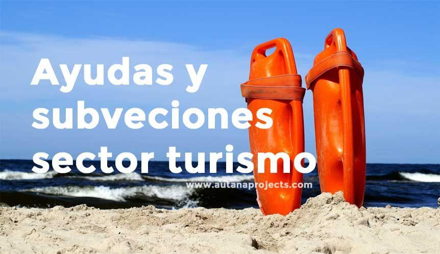 Subvenciones empresas turísticas
