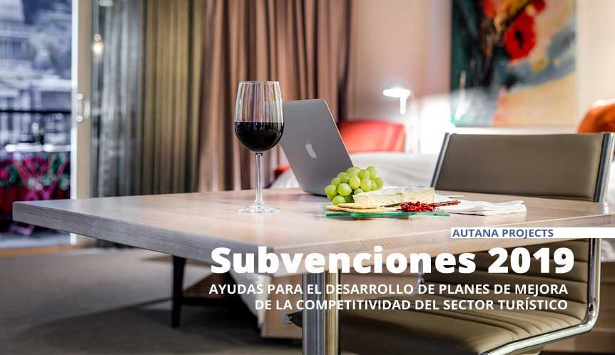 Subvenciones para empresas turísticas 2019
