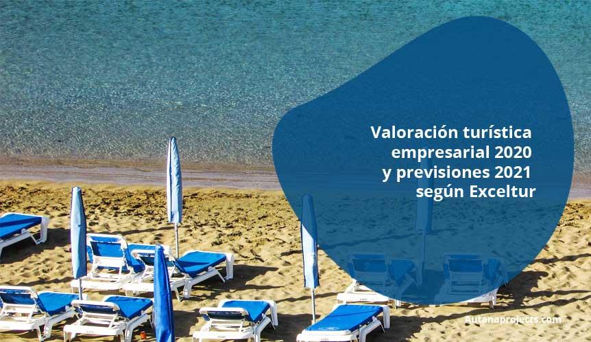 Valoración turística empresarial 2020 y previsiones 2021